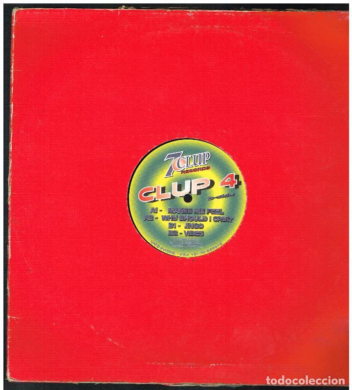 CLUP 4 - MAKES ME FEEL - MAXI SINGLE 1998 - ED. HOLANDA (Música - Discos de Vinilo - Maxi Singles - Pop - Rock Internacional de los 90 a la actualidad)