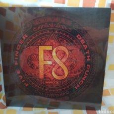 Discos de vinilo: FIVE FINGER DEATH PUNCH–F8. DOBLE LP VINILO NUEVO PRECINTADO. Lote 261819875