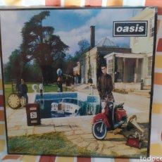 Discos de vinilo: OASIS –BE HERE NOW . DOBLE LP VINILO NUEVO PRECINTADO - OFICIAL -. Lote 261824370