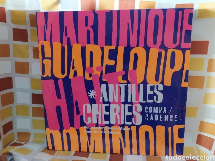 ANTILLES CHÉRIES. SELECTED BY EMILE OMAR FOUNDATION DANCE MUSIC FROM THE CARIBBEAN. DOBLE LP VINILO (Música - Discos - LP Vinilo - Funk, Soul y Black Music)