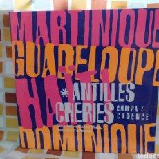 Discos de vinilo: ANTILLES CHÉRIES. SELECTED BY EMILE OMAR FOUNDATION DANCE MUSIC FROM THE CARIBBEAN. DOBLE LP VINILO. Lote 261827970