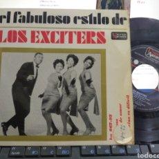 Discos de vinilo: LOS EXCITERS EP PODEROSO + 3 ESPAÑA 1963. Lote 261829035