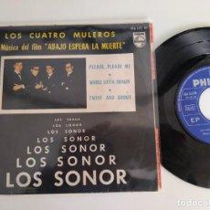 Disques de vinyle: LOS SONOR - LOS CUATRO MULEROS . EP. +3. Lote 261831715