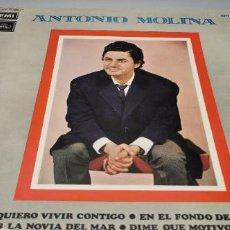 Discos de vinilo: ANTONIO MOLINA EMI SERIE AZUL LP. Lote 261846330
