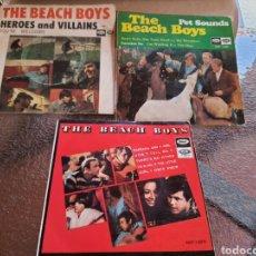 Discos de vinilo: THE BEACH BOYS . 3 DISCO .BUEN ESTADO. Lote 261847260