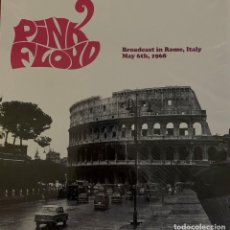 "Discos de vinilo: PINK FLOYD "" BROADCAST IN ROME, MAY 6TH 1968"" LP VINYL. Lote 261849580"