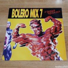 Discos de vinilo: BOLERO MIX 7 A QUIQUE TEJADA MIX. Lote 261849620