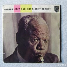 Discos de vinilo: SIDNEY BECHET.JUST ONE OF THOSE THINGS + 3....PEDIDO MINIMO 5€. Lote 261855555