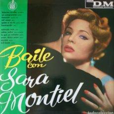 Discos de vinilo: SARITA MONTIEL LP SELLO HISPAVOX EDITADO EN ARGENTINA...BAILE CON.... Lote 261864360