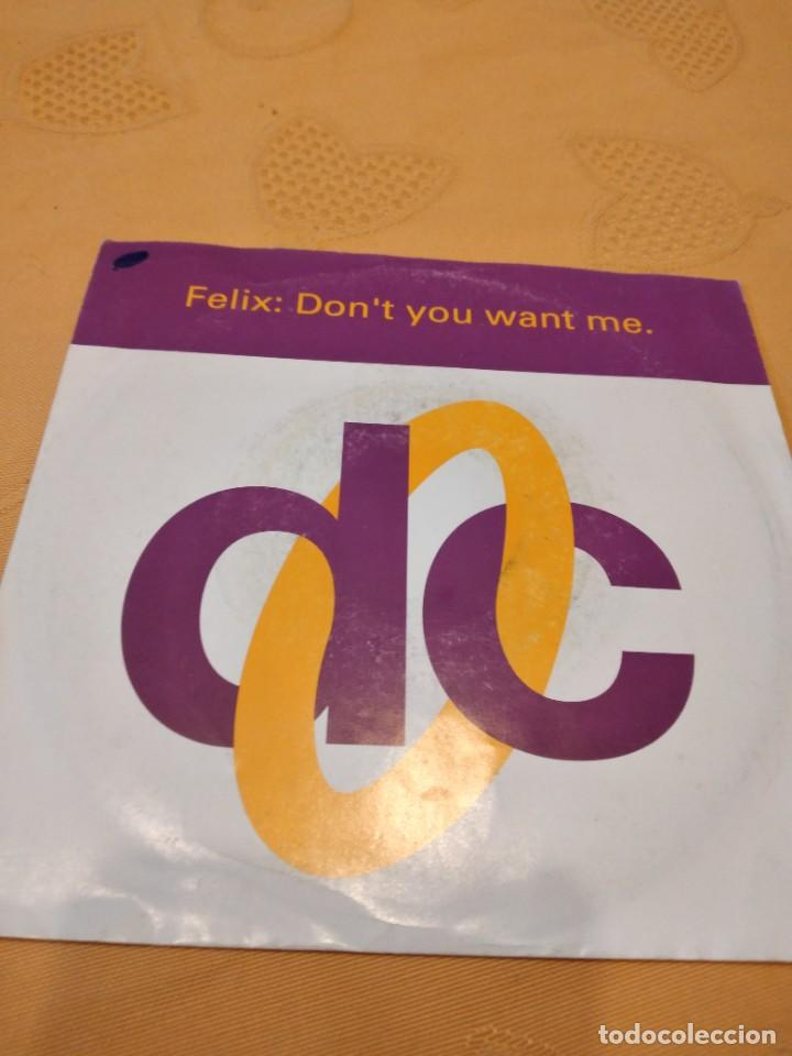BAL-3 DISCO 7 PULGADAS FELIX DON`T YOU WANT ME (Música - Discos - Singles Vinilo - Otros estilos)