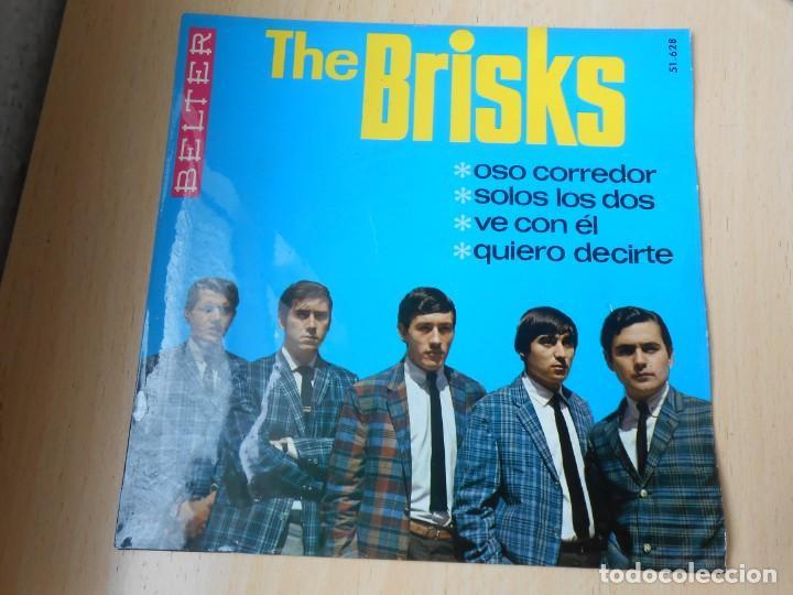 BRISKS, THE, EP, OSO CORREDOR + 3, AÑO 1966 (Música - Discos de Vinilo - EPs - Grupos Españoles 50 y 60)