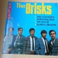 Discos de vinilo: BRISKS, THE, EP, OSO CORREDOR + 3, AÑO 1966. Lote 261865605