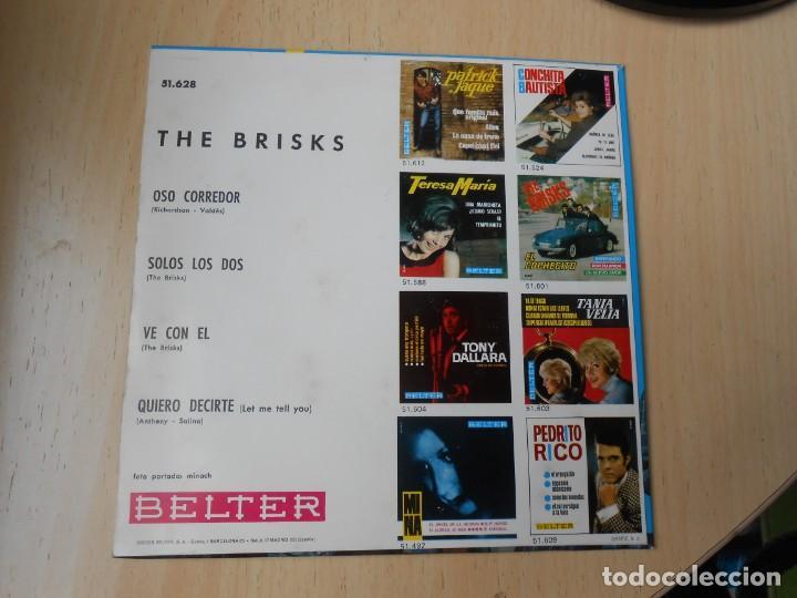 Discos de vinilo: BRISKS, THE, EP, OSO CORREDOR + 3, AÑO 1966 - Foto 2 - 261865605