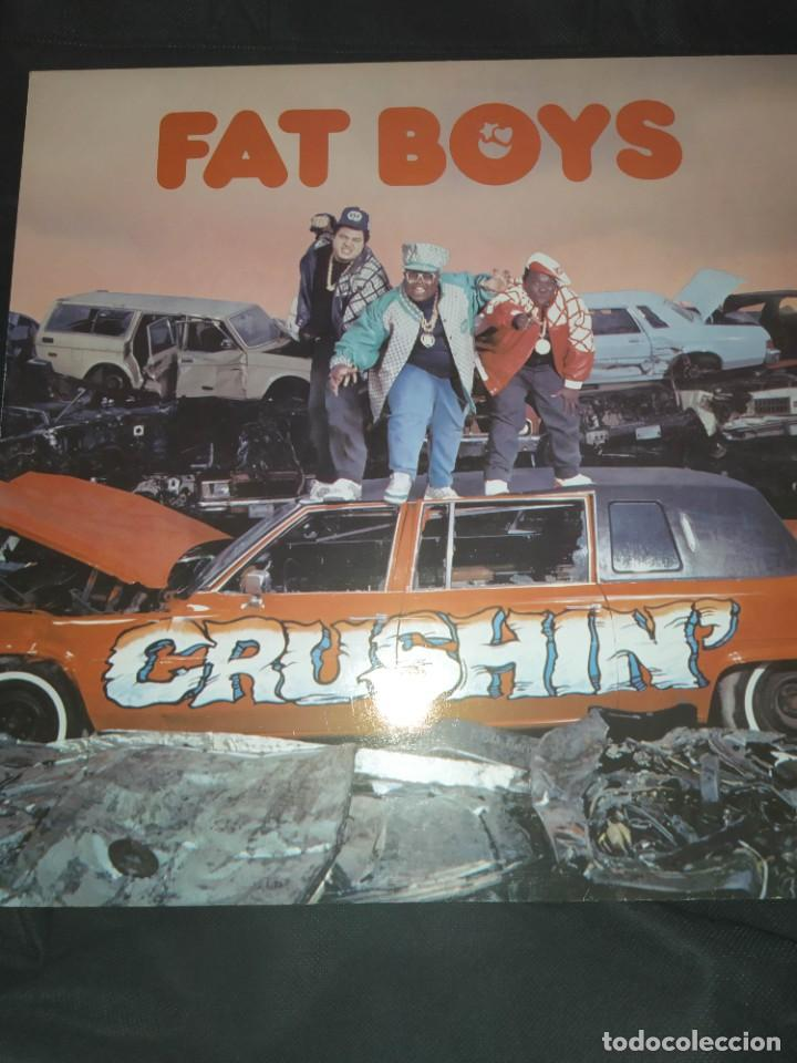 FAT BOYS - CRUSHIN LP (Música - Discos - LP Vinilo - Rap / Hip Hop)