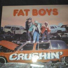 Discos de vinilo: FAT BOYS - CRUSHIN LP. Lote 261869245