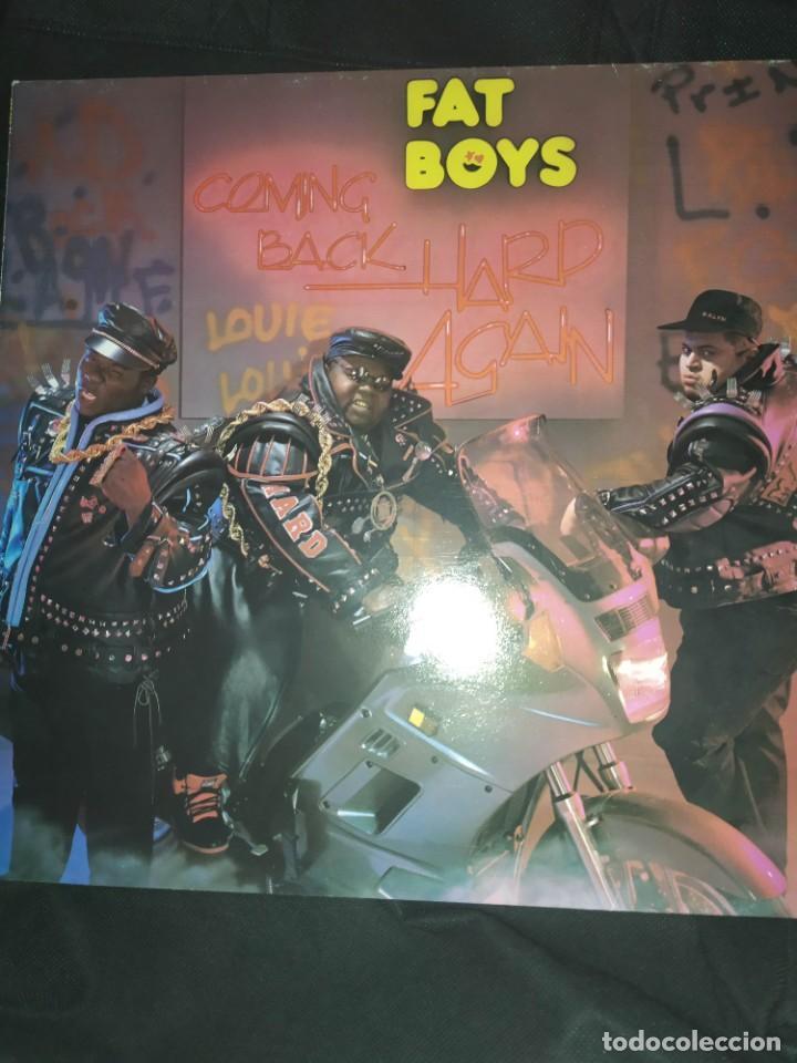 FAT BOYS – COMING BACK HARD AGAIN LP (Música - Discos - LP Vinilo - Rap / Hip Hop)
