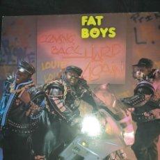 Discos de vinilo: FAT BOYS – COMING BACK HARD AGAIN LP. Lote 261869345