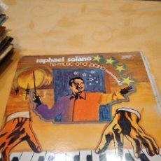 Discos de vinilo: BAL-9 DISCO VINILO 12 PULGADAS RAPHAEL SOLANO- HIS MUSIC AND PIANO INSTRUMENTAL. LP. Lote 261871420