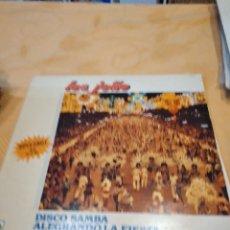 Discos de vinilo: BAL-9 DISCO VINILO 12 PULGADAS MAXI - LOS JOAO - DISCO SAMBA ALEGRANDO LA FIESTA. Lote 261872725