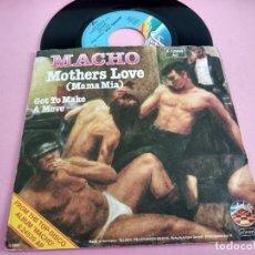 Discos de vinilo: MACHO – MOTHERS LOVE (MAMA MIA) / GOT TO MAKE A MOVE. Lote 261889705