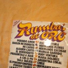 Discos de vinilo: BAL-10 DISCO VINILO 12 PULGADAS MUSICA RUMBAS DE ORO. Lote 261890195