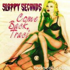Disques de vinyle: SLOPPY SECONDS -COME BACK, TRACI. SINGLE VINILO COLOR ROJO - PERFECTO ESTADO. Lote 261895390