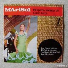 Discos de vinilo: MARISOL.LOS CUATRO MULEROS + 3. Lote 261898950