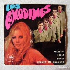 Discos de vinilo: LOS COMODINES.PALABRAS + 3. Lote 261899105