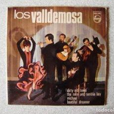 Discos de vinilo: LOS VALLDEMOSA.DIRTY OLD TOWN + 3. Lote 261899685