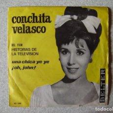 Discos de vinilo: CONCHITA VELASCO.UNA CHICA YE-YE + 1...DIFICIL. Lote 261900125