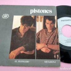 Disques de vinyle: PISTONES - EL PISTOLERO / METADONA. Lote 261902385
