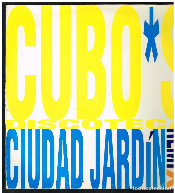 CIUDAD JARDIN - CUBO'S DISCOTECA - MAXI SINGLE 1993 - ED. ESPAÑA (Música - Discos de Vinilo - Maxi Singles - Pop - Rock Internacional de los 90 a la actualidad)