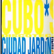 Discos de vinilo: CIUDAD JARDIN - CUBO'S DISCOTECA - MAXI SINGLE 1993 - ED. ESPAÑA. Lote 261903865