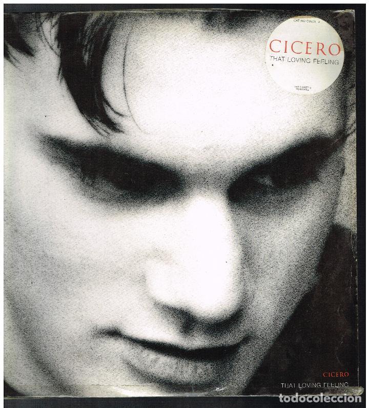 CICERO - THAT LOVING FEELING / SPLATT - MAXI SINGLE 1992 - ED. UK (Música - Discos de Vinilo - Maxi Singles - Pop - Rock Internacional de los 90 a la actualidad)