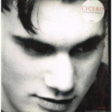 Discos de vinilo: CICERO - THAT LOVING FEELING / SPLATT - MAXI SINGLE 1992 - ED. UK. Lote 261907515