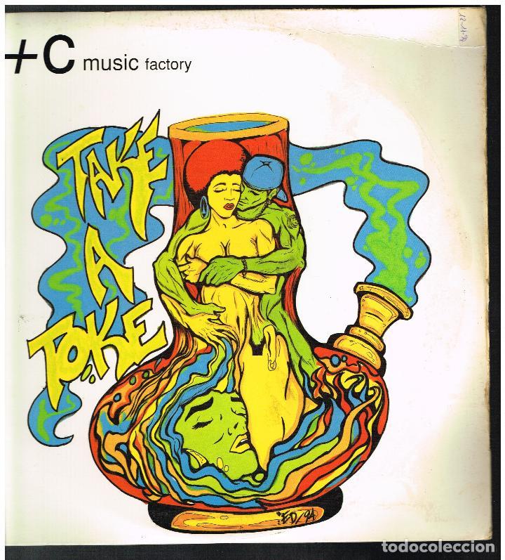 C + C MUSIC FACTORY - TAKE A TOKE (THE REMIX) - MAXI SINGLE 1994 - ED. USA (Música - Discos de Vinilo - Maxi Singles - Pop - Rock Internacional de los 90 a la actualidad)