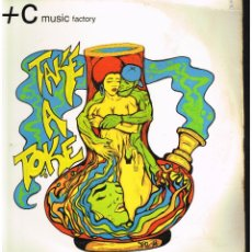 Discos de vinilo: C + C MUSIC FACTORY - TAKE A TOKE (THE REMIX) - MAXI SINGLE 1994 - ED. USA. Lote 261909235