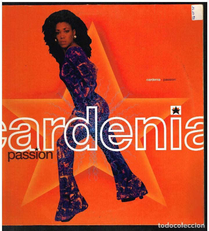 CARDENIA - PASSION - MAXI SINGLE 1993 - ED. ALEMANIA (Música - Discos de Vinilo - Maxi Singles - Pop - Rock Internacional de los 90 a la actualidad)