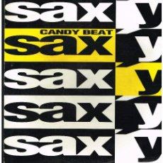 Discos de vinilo: CANDY BEAT - SAX'Y - MAXI SINGLE 1992 - ED. ALEMANIA. Lote 261910650