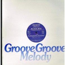 Discos de vinilo: BLACK BOX - OPEN YOUR EYES - MAXI SINGLE 1991 - ED. ITALIA. Lote 261911845
