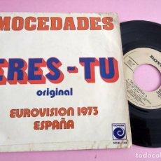 Dischi in vinile: MOCEDADES - ERES TU EUROVISION ESPAÑA1973. Lote 261913755