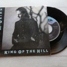 Discos de vinilo: ROGER MCGUINN – KING OF THE HILL SINGLE SPAIN 1991 VINILO EX/PORTADA VG++. Lote 261916515