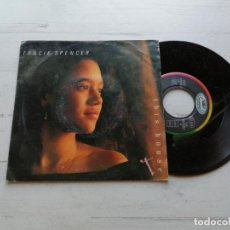 Discos de vinilo: TRACIE SPENCER ‎– THIS HOUSE SINGLE ALEMANIA 1991 VINILO EX/PORTADA VG+. Lote 261919410
