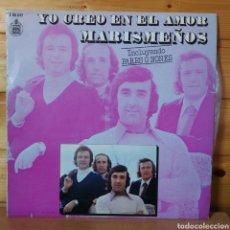 Discos de vinilo: LP ALBUM , LOS MARISMEÑOS , YO CREO EN EL AMOR. Lote 261920375