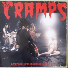 Discos de vinilo: THE CRAMPS – ROCKINNREELININAUCKLANDNEWZEALANDXXX-1987 GERMANY-GARAGE/ROCK/PSYCHOBILLY. Lote 261925270
