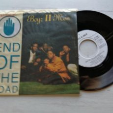 Discos de vinilo: BOYZ II MEN ‎– END OF THE ROAD SINGLE ALEMANIA 1992 VINILO NM/PORTADA EX. Lote 261927405