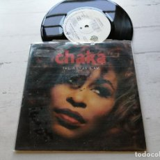 Discos de vinilo: CHAKA* ‎– THE WOMAN I AM SINGLE ALEMANIA 1992 VINILO NM/PORTADA VG+. Lote 261928510