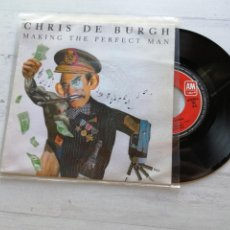 Discos de vinilo: CHRIS DE BURGH ‎– MAKING THE PERFECT MAN SINGLE SPAIN PROMO 1992 VINILO NM/PORTADA EX. Lote 261929540