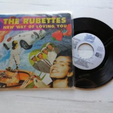 Discos de vinilo: THE RUBETTES ‎– NEW WAY OF LOVING YOU SINGLE SPAIN 1991 PROMO VG++/VG++. Lote 261933395