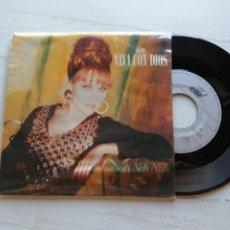 Discos de vinilo: VAYA CON DIOS – NAH NEH NAH SINGLE SPAIN 1990 EX/EX. Lote 261933690
